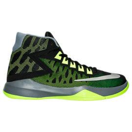 Green Nike Zoom Devosion Basketball Shoes Photo