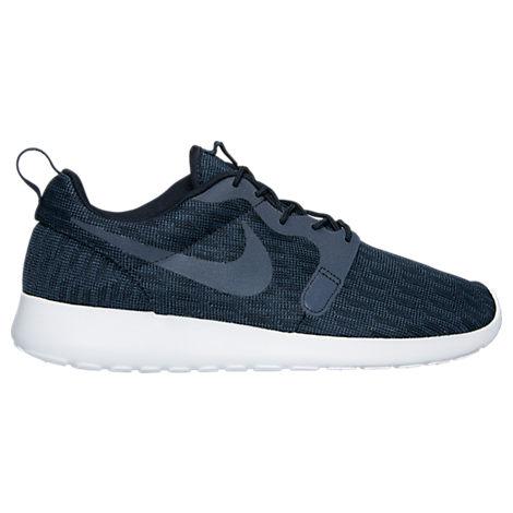 Navy Blue Nike Roshe One Jacquard Casual Shoes