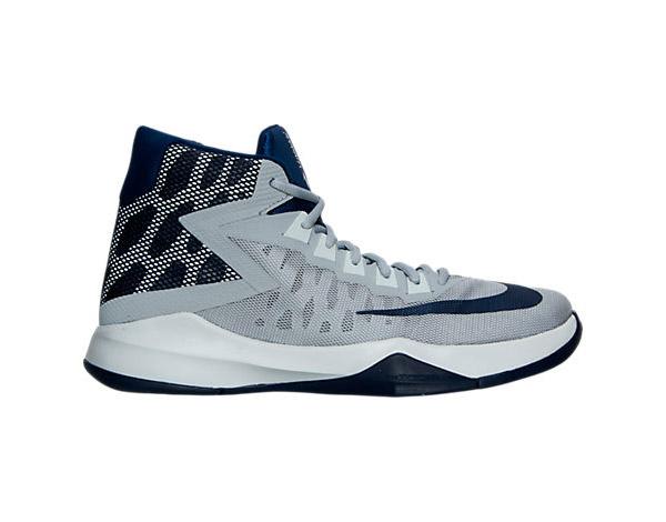 Grey Nike Zoom Devosion Basketball Shoes Photo