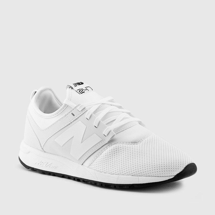 Women's New Balance 247 Classic White Sneakers $59.99