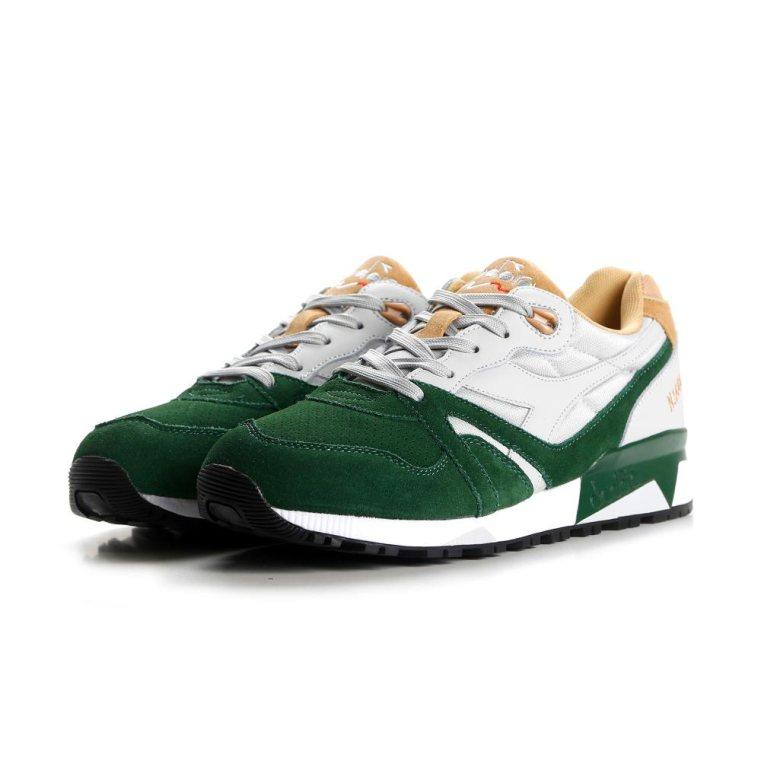 d8d60c925d Men's Diadora N9000 Green Casual Shoes $59.98