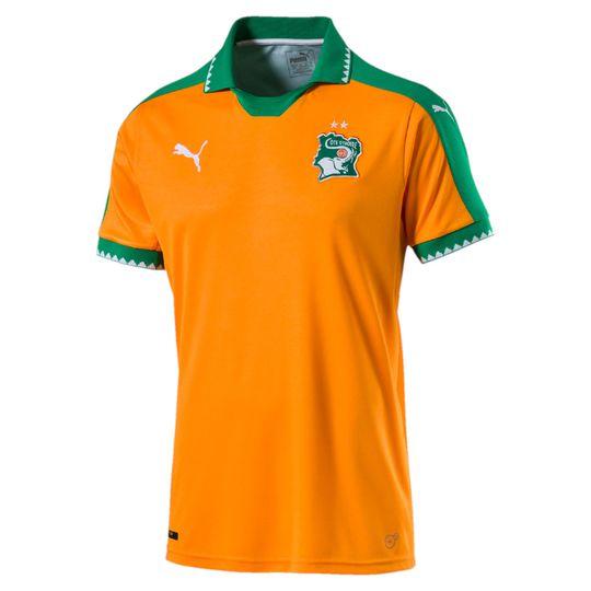 Puma 2016-2017 Ivory Coast Home Jersey