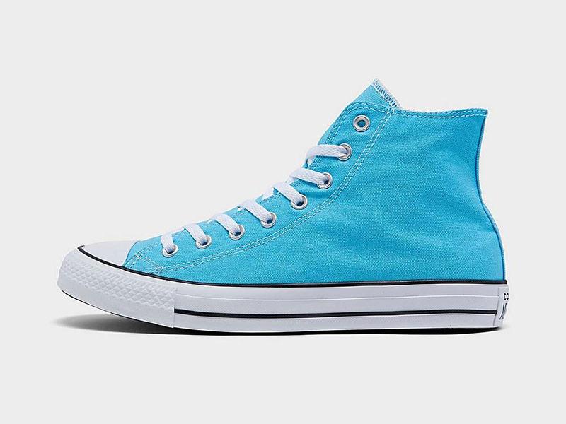 The Timeless Aqua Blue Converse Chuck Taylor High Top on Sale $40